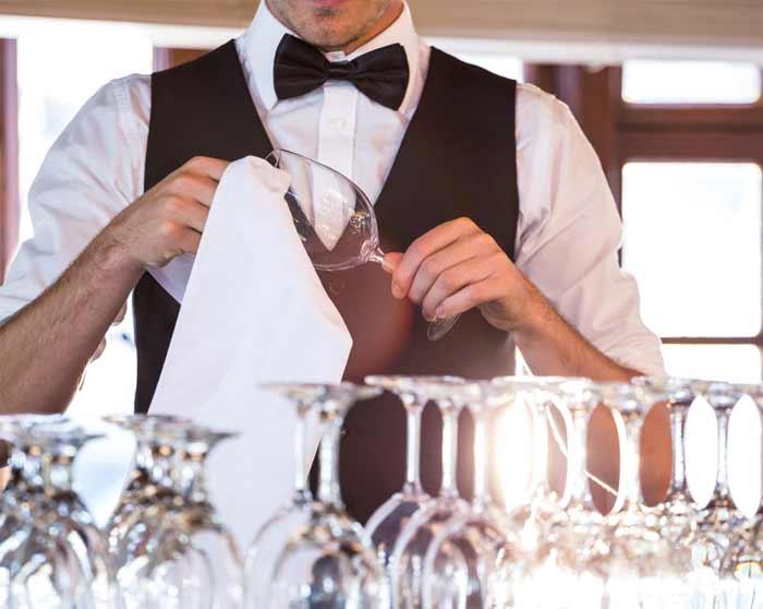 Restaurant Linen Hire polishing cloths